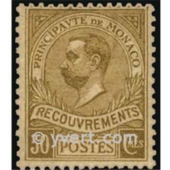 nr. 10 -  Stamp Monaco Revenue stamp