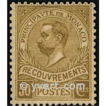 nr. 10 -  Stamp Monaco Revenue stamp
