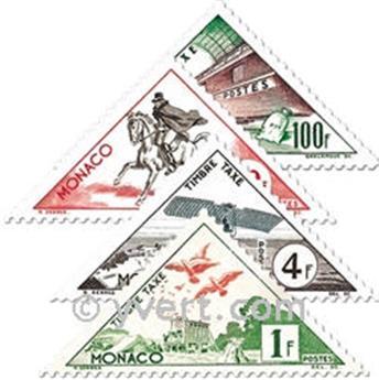 n° 39A/55 -  Timbre Monaco Taxe