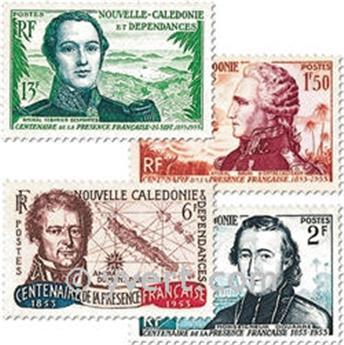 n.o 280/283 -  Sello Nueva Caledonia Correos