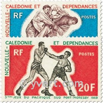 n.o 361/362 -  Sello Nueva Caledonia Correos