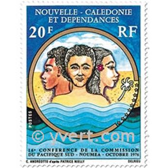 n.o 405 -  Sello Nueva Caledonia Correos