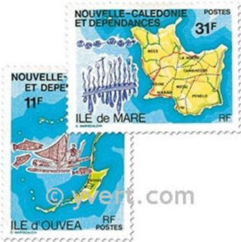 n.o 426/427 -  Sello Nueva Caledonia Correos
