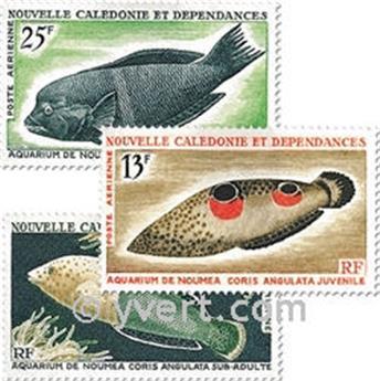 n° 81/83 -  Timbre Nelle-Calédonie Poste aérienne