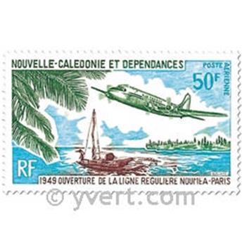 n° 109 -  Timbre Nelle-Calédonie Poste aérienne
