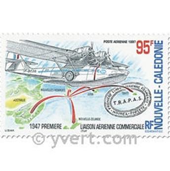 n° 345/346 -  Selo Nova Caledónia Correio aéreo
