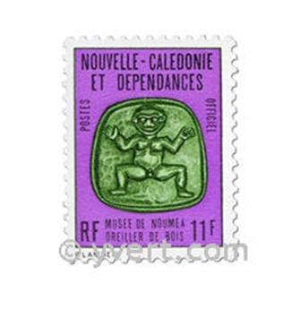 n.o 21 / 30 -  Sello Nueva Caledonia Oficial