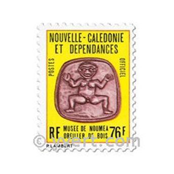 n° 41 -  Selo Nova Caledónia Oficiais