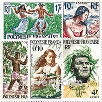 n° 1/11 -  Selo Polinésia Correios