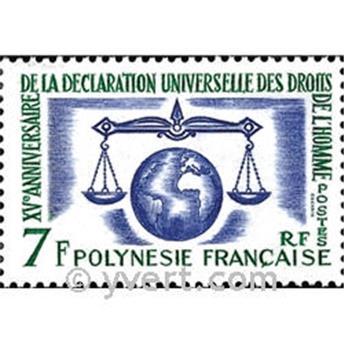 nr. 25 -  Stamp Polynesia Mail