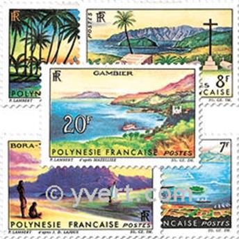 n° 30/34 -  Selo Polinésia Correios