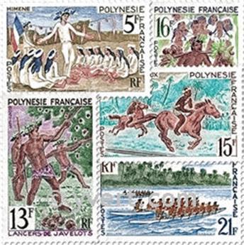 n° 47/51 -  Timbre Polynésie Poste
