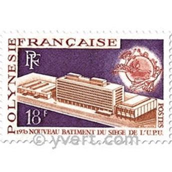 n° 80/81 -  Timbre Polynésie Poste