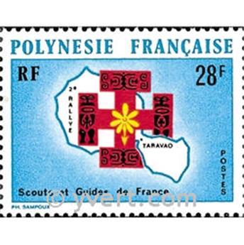 n.o 91 -  Sello Polinesia Correos