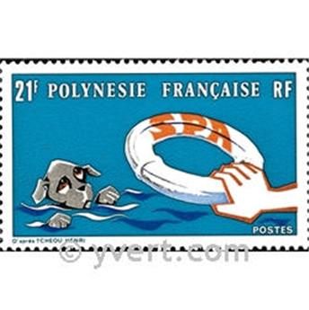 n.o 96 -  Sello Polinesia Correos