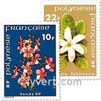 n.o 128 / 129 -  Sello Polinesia Correos