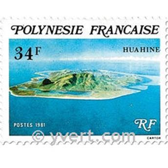 n.o 171/173 -  Sello Polinesia Correos