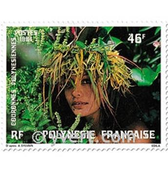 n.o 219/221 -  Sello Polinesia Correos