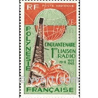 n° 16 -  Timbre Polynésie Poste aérienne