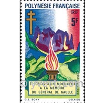 n° 46 -  Selo Polinésia Correio aéreo