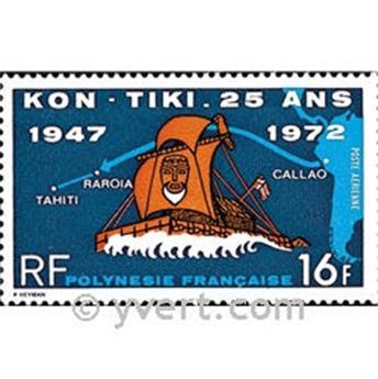 n° 64 -  Selo Polinésia Correio aéreo