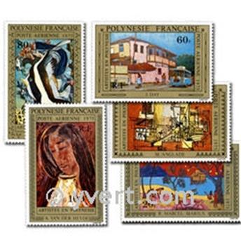 nr. 98/102 -  Stamp Polynesia Air Mail