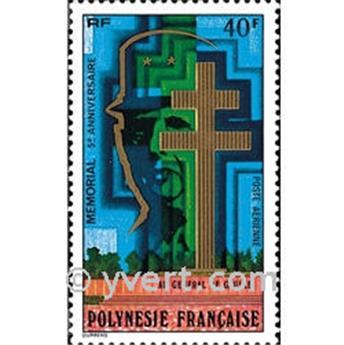 n° 123 -  Timbre Polynésie Poste aérienne