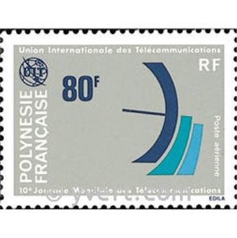 n° 136 -  Timbre Polynésie Poste aérienne