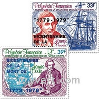 nr. 142/143 -  Stamp Polynesia Air Mail