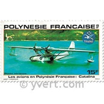 n.o 156 / 159 -  Sello Polinesia Correo aéreo