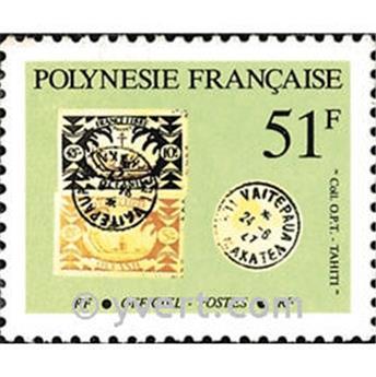 n° 26 -  Timbre Polynésie De service
