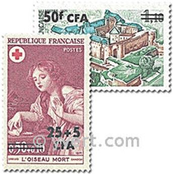 n° 404/405 -  Timbre Réunion Poste