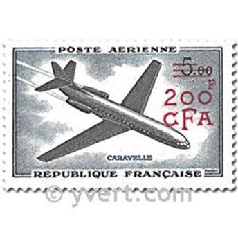 n° 58/60 -  Timbre Réunion Poste aérienne
