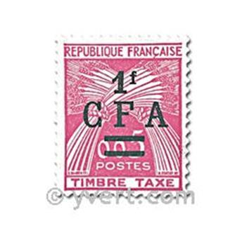n° 45/47 -  Timbre Réunion Taxe