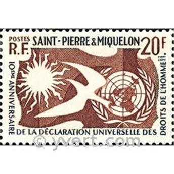 n° 358 -  Timbre Saint-Pierre et Miquelon Poste