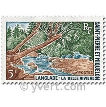 n° 385/386 -  Timbre Saint-Pierre et Miquelon Poste