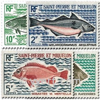 n.o 421/424 -  Sello San Pedro y Miquelón Correos