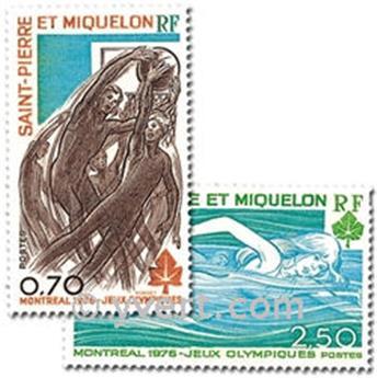 n.o 450/451 -  Sello San Pedro y Miquelón Correos