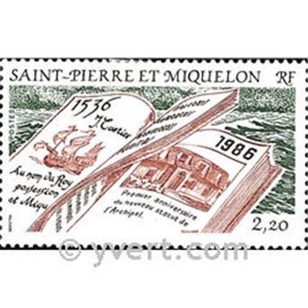n.o 470 -  Sello San Pedro y Miquelón Correos