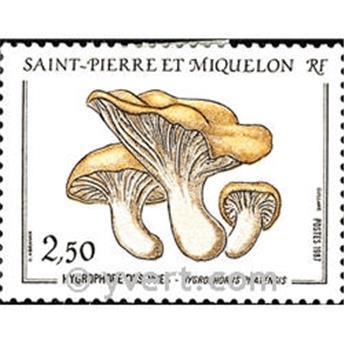 n.o 475 -  Sello San Pedro y Miquelón Correos