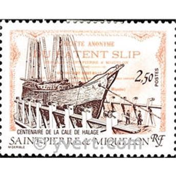 n.o 479 -  Sello San Pedro y Miquelón Correos