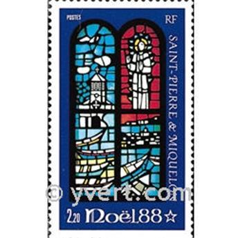 n.o 496 -  Sello San Pedro y Miquelón Correos