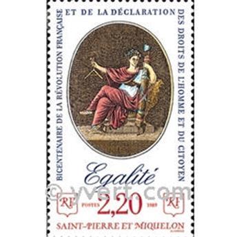 n.o 500 -  Sello San Pedro y Miquelón Correos