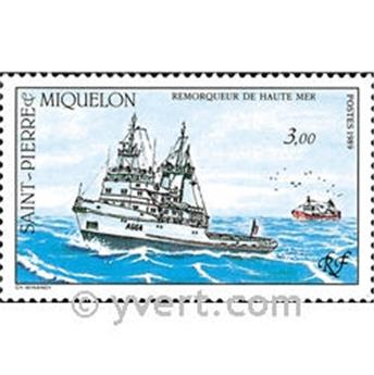 n.o 510 -  Sello San Pedro y Miquelón Correos