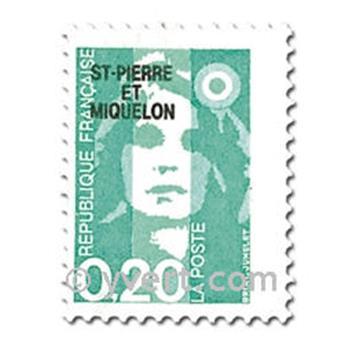 n.o 514/520 -  Sello San Pedro y Miquelón Correos