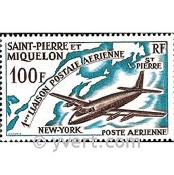 n° 31 -  Selo São Pedro e Miquelão Correio aéreo