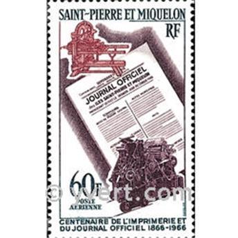 n° 37 -  Timbre Saint-Pierre et Miquelon Poste aérienne
