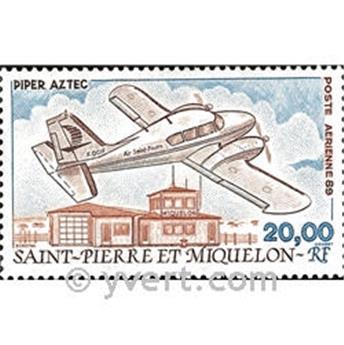 n.o 68 -  Sello San Pedro y Miquelón Correo aéreo