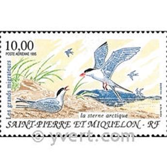 n.o 74 -  Sello San Pedro y Miquelón Correo aéreo