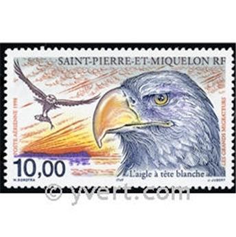 n.o 78 -  Sello San Pedro y Miquelón Correo aéreo